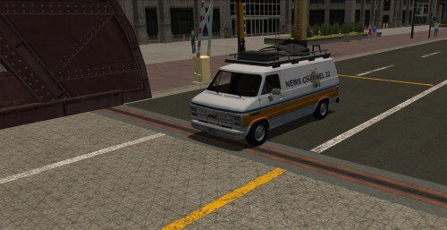 Newsvan Most Wanted/Carbon-replica